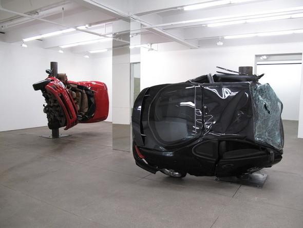 Скульптуры из разбитых машин Dirk Skreber. Изображение № 3.