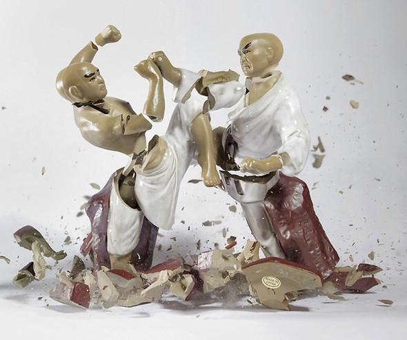 Когда разбитый фарфор становится искусством. Изображение № 4.