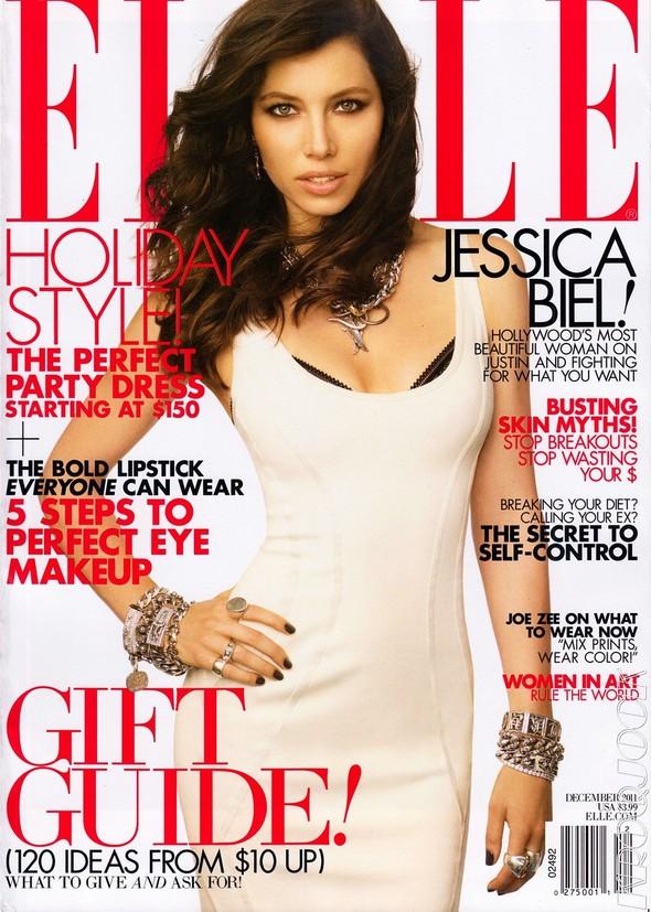 Съёмка: Джессика Бил для Elle. Изображение № 1.