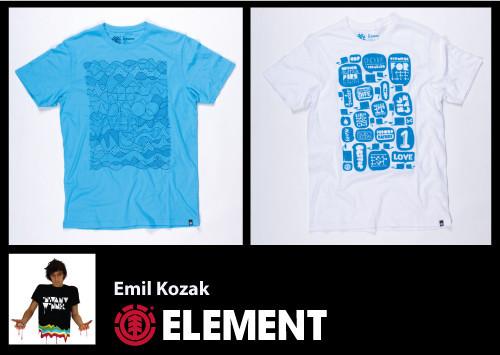 Обзор мужской весенней коллекции ELEMENT 2010. Изображение № 10.