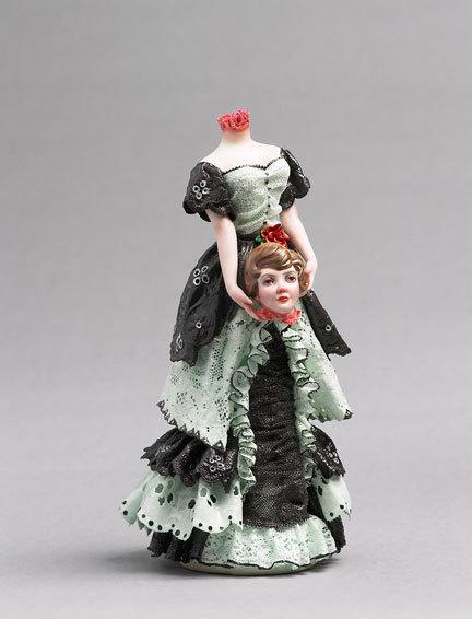 Фарфоровые статуэтки от Shary Boyle. Изображение № 3.