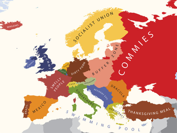 Европа в стереотипах. Изображение № 1.