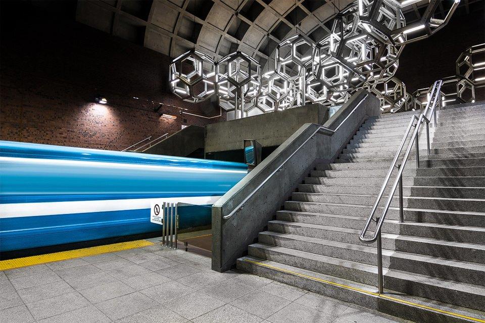 Фото: незаметная красота монреальского метро. Изображение № 15.