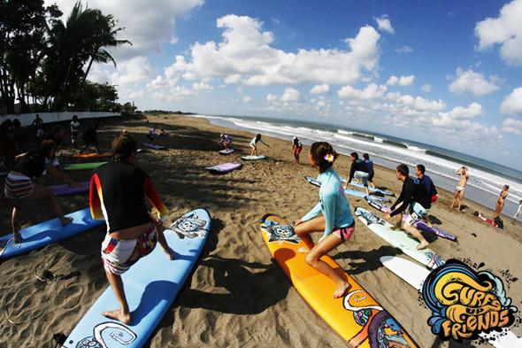 SurfsUpFriends - серфинг лагерь на Бали в январе. Изображение № 2.