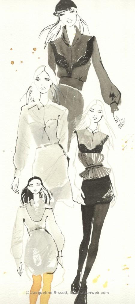 Иллюстратор Жаклин Биссет. Изображение № 34.