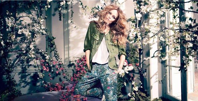 Показана полная кампания H&M Conscious с Ванессой Паради. Изображение № 1.