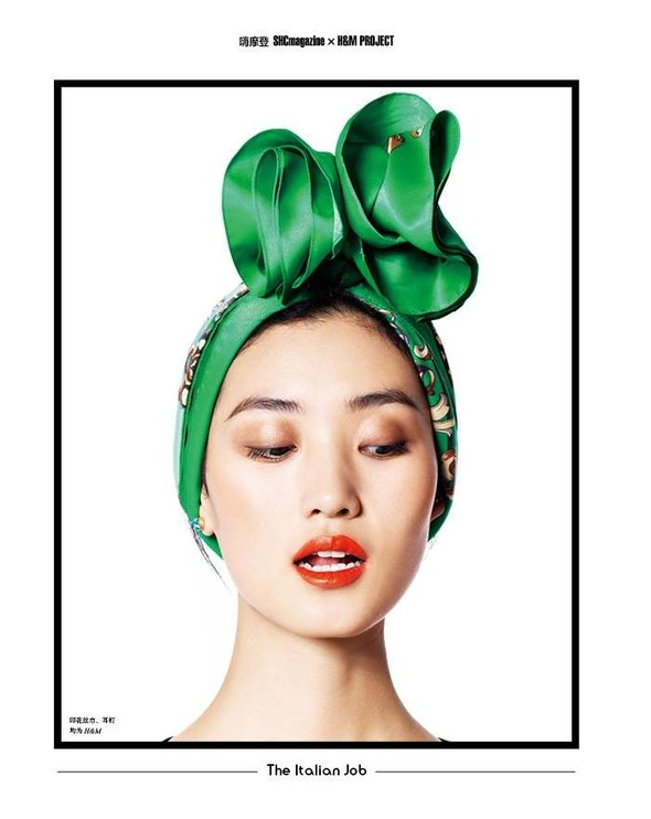 Съёмка: Лина Чжан, Мин Фэй Ни и Сяо Вэнь Цзюй в H&M для SHC. Изображение № 4.