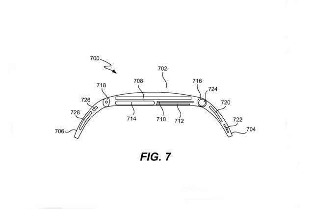 Apple получила патент на смарт-часы iTime . Изображение № 6.