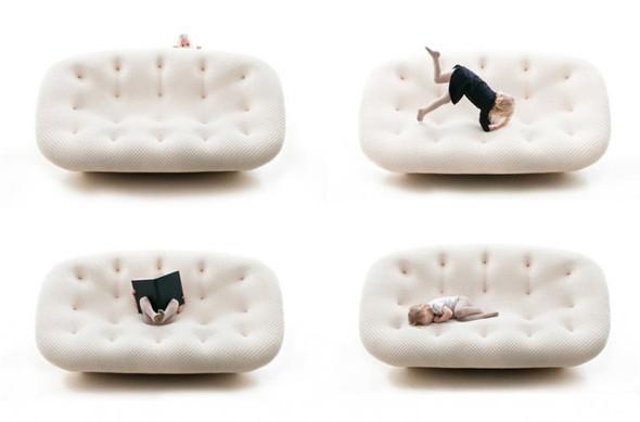 Новый диван PLOUM от Ronan & Erwan Bouroullec. Изображение № 4.