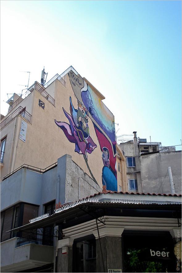 Стрит-арт и граффити Афин, Греция. Часть 2. Изображение № 42.