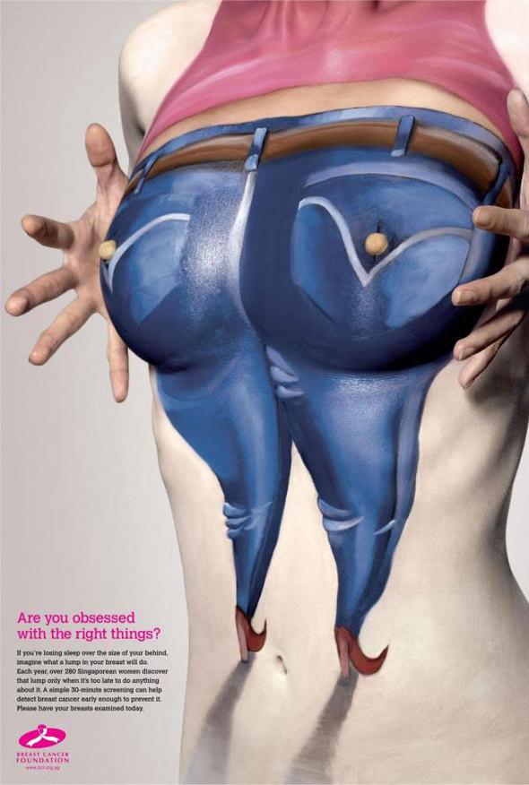 Изображение 2. Реклама в поддержку женщин с раком груди.. Изображение № 2.