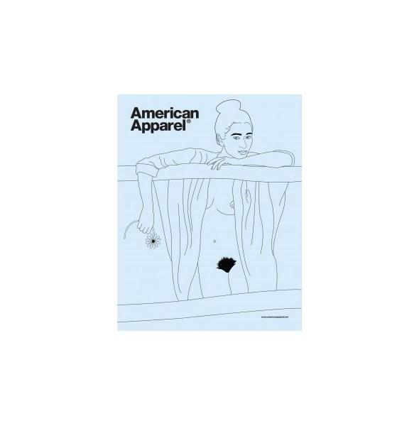 Превью рекламной кампании American Apparel. Изображение № 2.