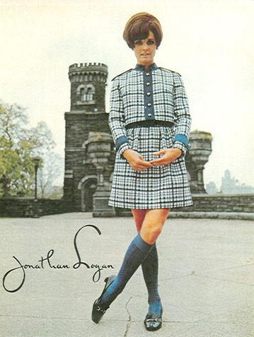 Модные платья 60х.