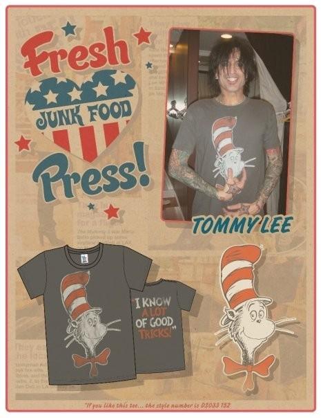 Звездные футболки Junk Food. Изображение № 8.