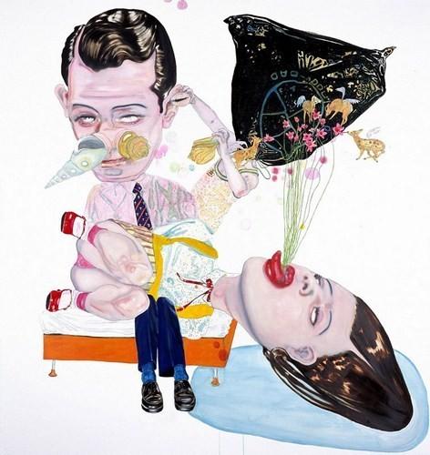 """""""Искусство расширенного сознания"""" в полотнах швейцарского художника. Изображение № 14."""