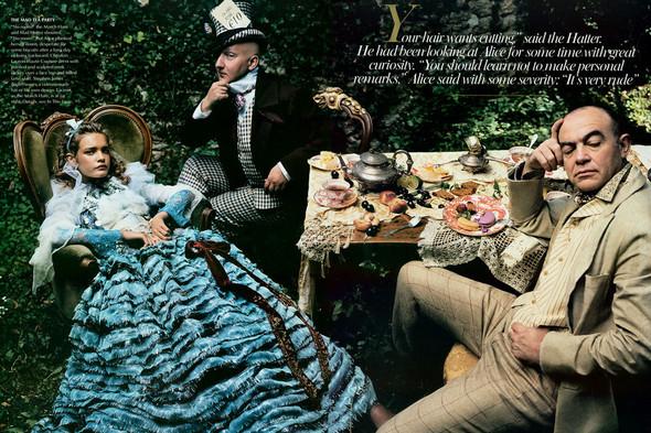 Архивная съемка: Наталья Водянова для американского Vogue 2003. Изображение № 11.