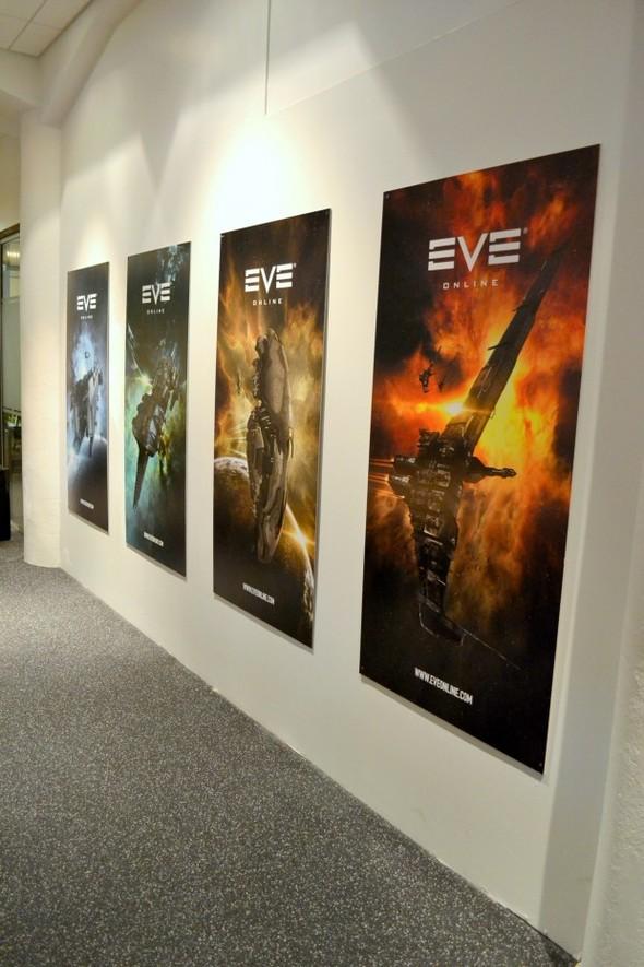 Студия CCP в Рейкьявике, где делают онлайн-игру EVE. Изображение № 5.