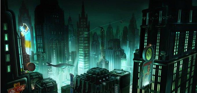 Опубликованы концепт-арты экранизации Bioshock. Изображение № 2.