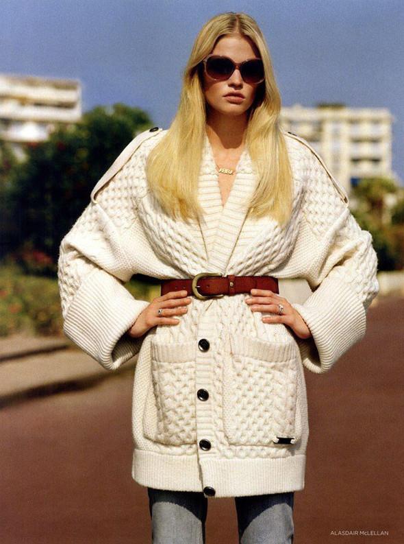 Лара Стоун в Vogue UK. Изображение № 11.
