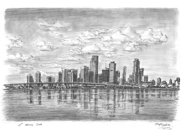 Стивен Вилтшер. Художник рисующий панорамы городов по памяти. Изображение №15.