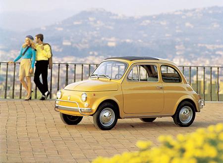ОбИконе Италии — Fiat 500. Изображение № 4.