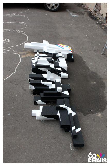 3D sculpture artist: OnePoint (process). Изображение № 9.