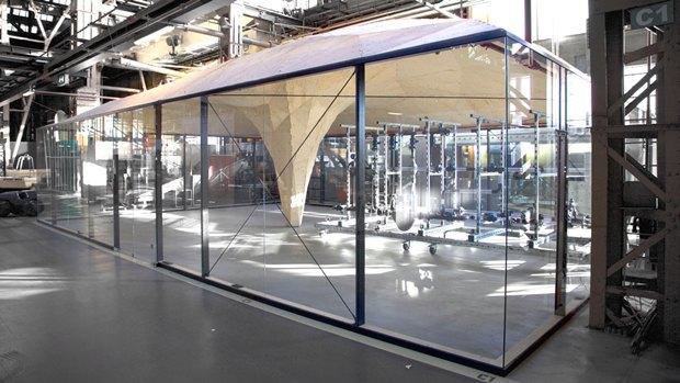 В Роттердаме робот помог возвести деревянный павильон. Изображение № 7.