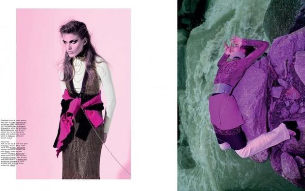 Новые съемки Dazed & Confused, Vogue, Pop и Madame Figaro. Изображение № 29.