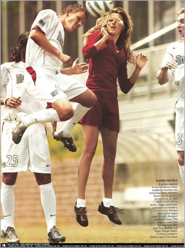 Быстрее, выше, сильнее: Модные съемки, вдохновленные спортом. Изображение №16.