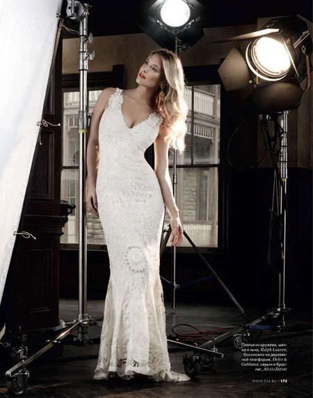 Изображение 4. Bar Refaeli в Dolce&Gabbana для ELLE Россия Март 2011.. Изображение № 4.
