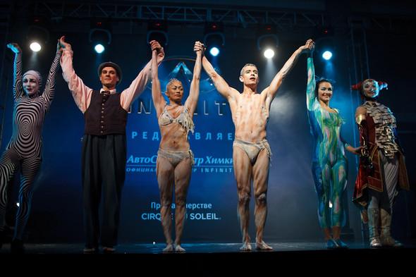 Cirque du Soleil на открытии дилерского центра INFINITI. Изображение № 23.