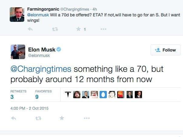 Илон Маск написал в твиттере об автомобиле Tesla Model Y. Изображение № 2.