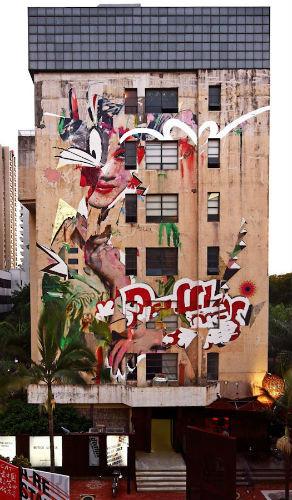 Лучшие стрит-арт проекты 2011 года. Изображение №10.