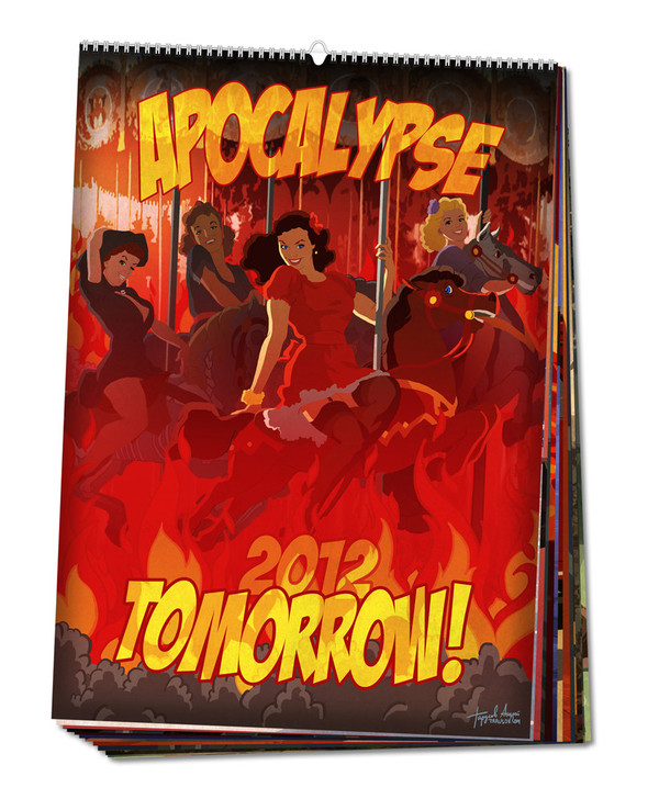 Apocalypse Tomorrow. Календарь, 2012. Изображение № 1.