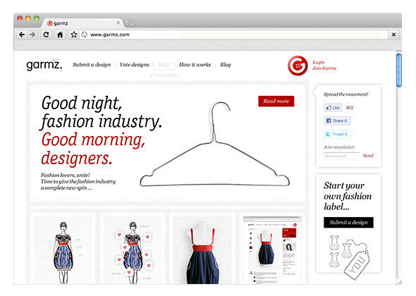 Garmz.com — одежда на завтра. Изображение № 1.