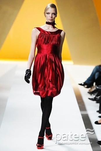 Изображение 2. Платье-баллон – классика, проверенная временем.. Изображение № 6.