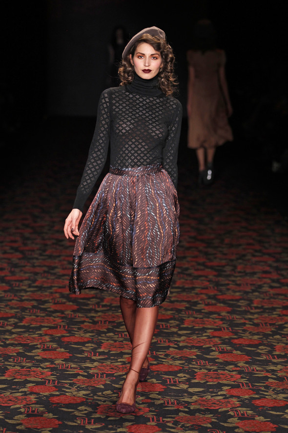 Berlin Fashion Week A/W 2012: Lena Hoschek. Изображение № 39.