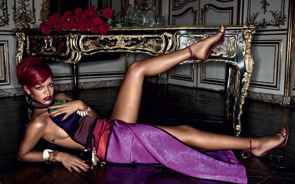 Rihanna в журнале Interview. Изображение № 2.
