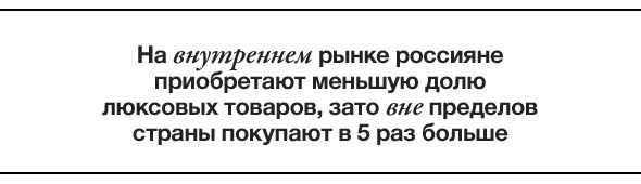 Единство и борьба: масс-маркет против люкса в России. Изображение № 7.