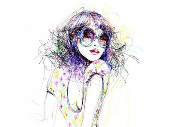 Иллюстрации Antoinette-Fleur. Изображение № 2.