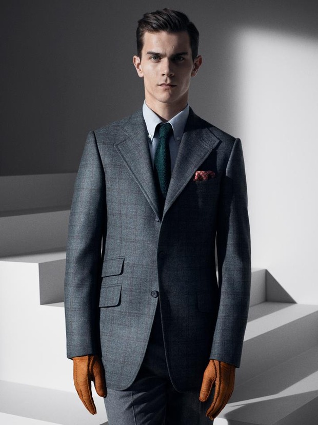 Alfred Dunhill lookbook casual wear Autumn Winter 2012. Изображение № 11.
