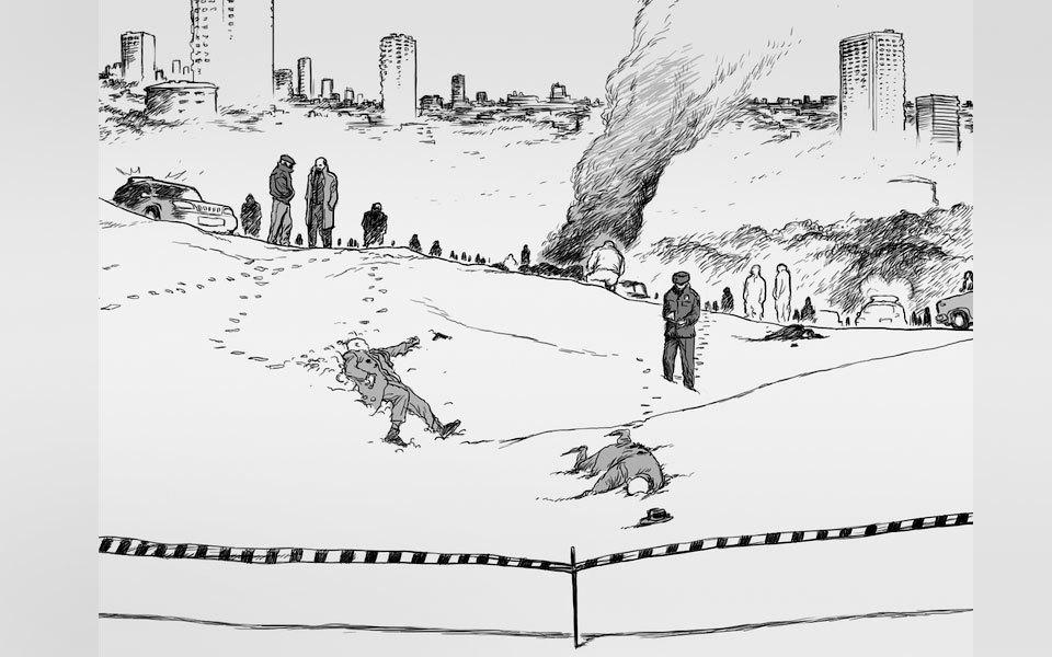 Как русские художники комиксов ищут работу на Западе. Изображение № 12.