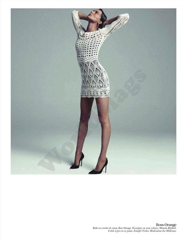 Съёмка: Дарья Вербова для французского Vogue. Изображение № 12.
