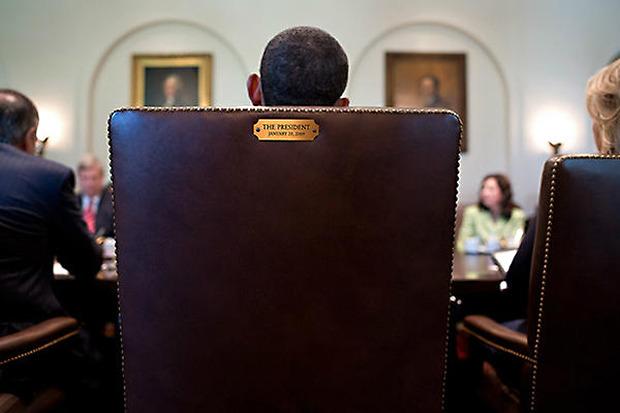 Выборы, выборы: Барак Обама, Клинт Иствуд и стул. Изображение № 1.