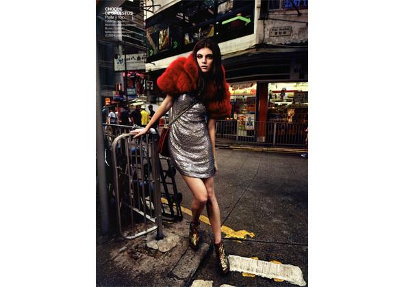Алекса Карлетт для испанского Woman . Изображение № 158.