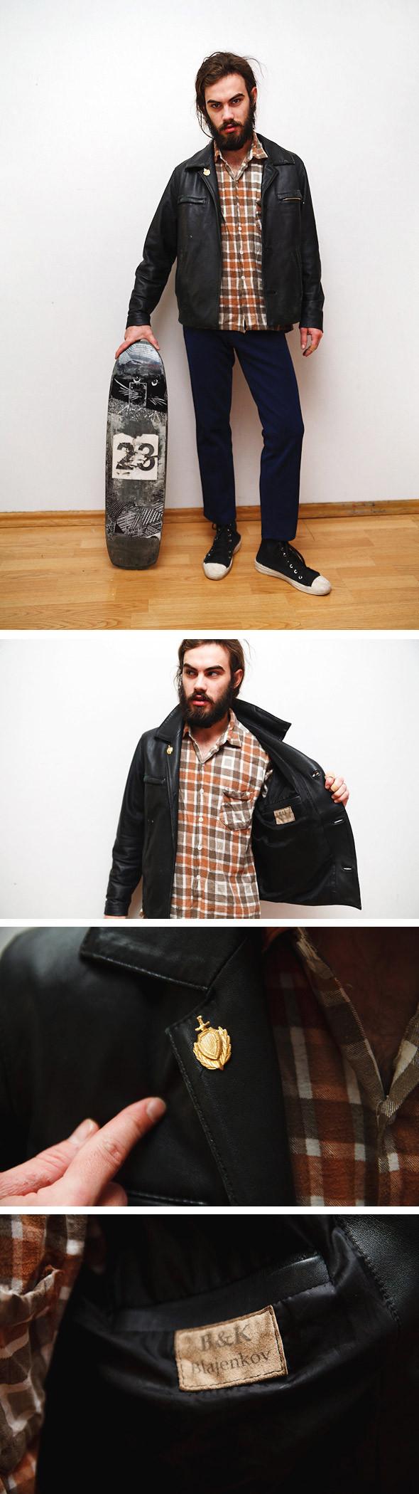 Гардероб: Павлик Кузнецов, художник и скейтер. Изображение № 3.