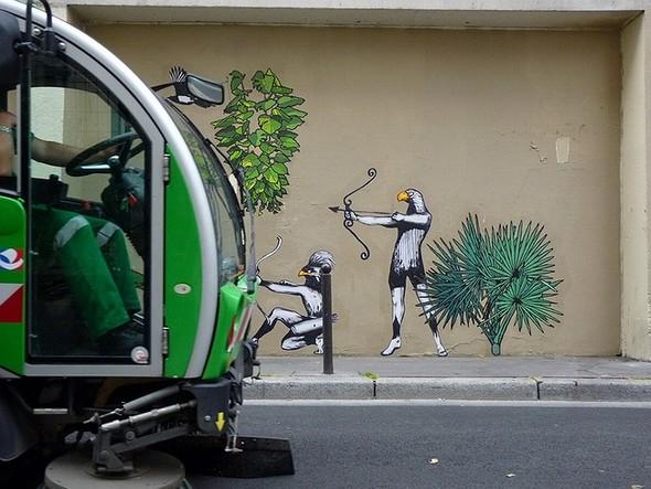 Стрит-арт в Париже. Изображение № 18.