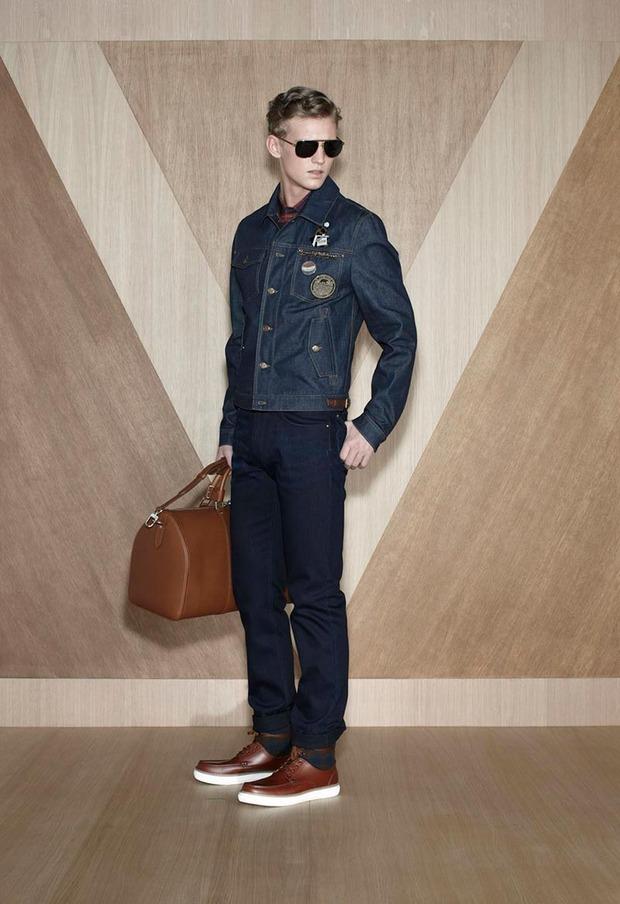 Мужские лукбуки Alexander McQueen, Comme des Garcons, Louis Vuitton и Club Monaco. Изображение № 44.