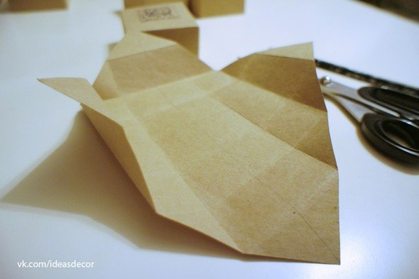 Простая подарочная коробочка, без использования клея. Изображение № 4.