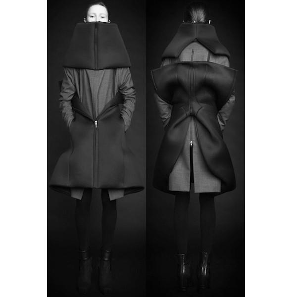 Изображение 35. Лукбуки: Bergdorf Goodman, Jaeger Black и Rad Hourani.. Изображение № 35.